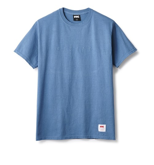 FTC / OVERDYED TEE -NAVY-