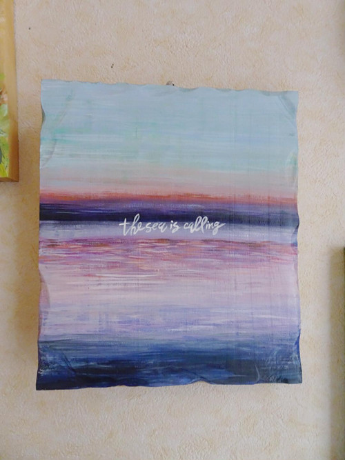 the sea is calling/art