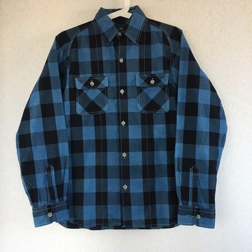 Litmus × Pma original raglan 藍染 shirt