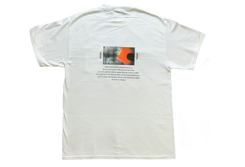NOTHIN'SPECIAL DEEJAY POCKET TEE WHITE