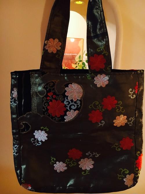 select line★Japanese style kimono belt bag
