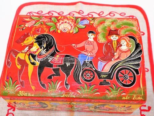 馬車 宝石箱