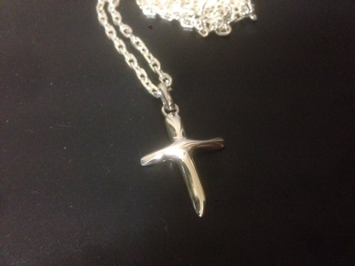 Twig Cross Pendant
