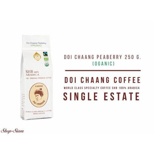 ドイチャン コーヒー ピーベリー(丸豆) オーガニック/Doi Chaang Coffee PEABERRY ORGANIC  250g