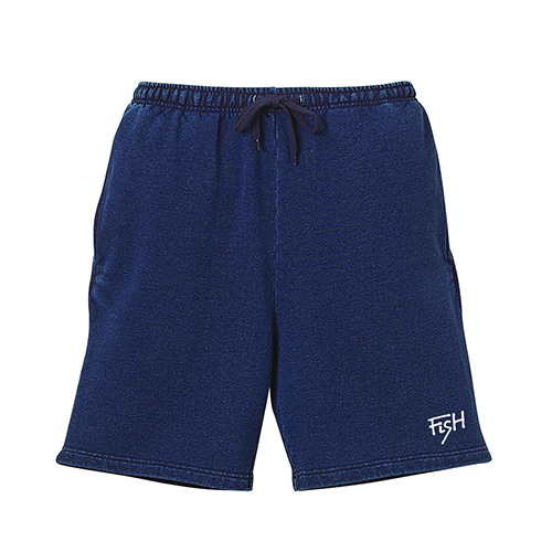 BURITSU FiSH Denim Sweat Shorts