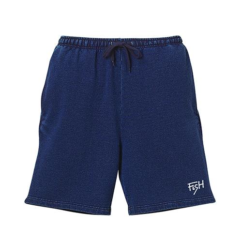 BURITSU FiSH Denim Sweat Shorts