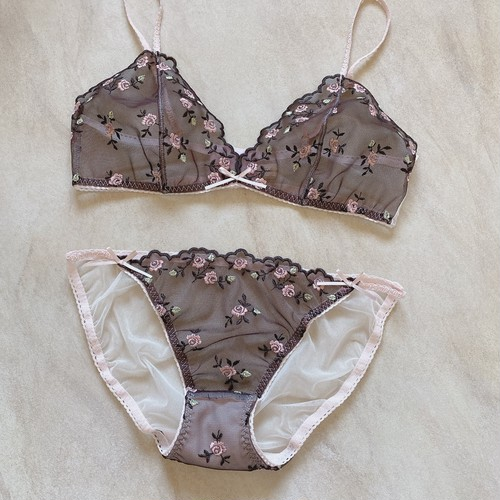 Rose French Lace(lingerie set)