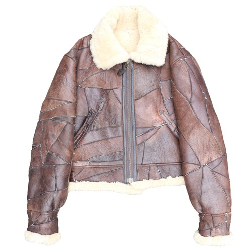 TypeB-3 Flight PatchLeather MoutonJacket
