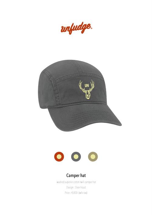 Camper hat // Charcoal