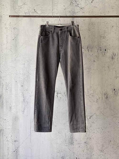 Levi's501 gray denim pants