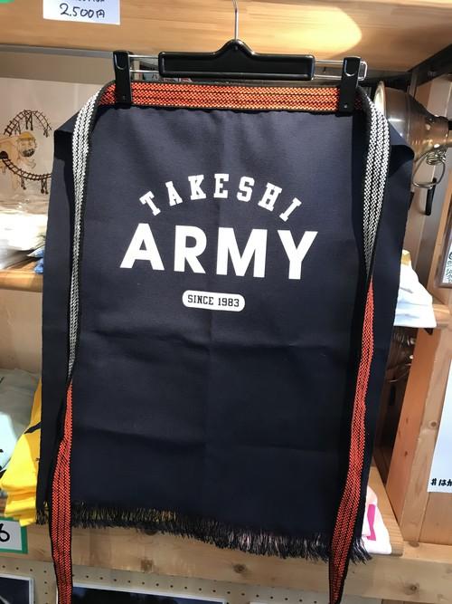 TAKESHI ARMY前掛け