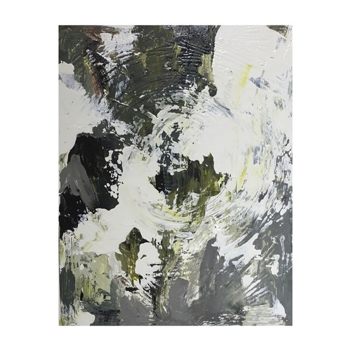 title: abstract painting (White rose1) tmap-012