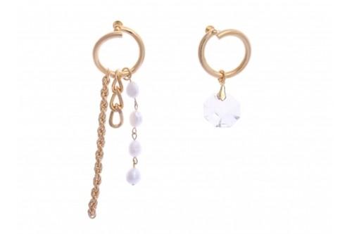 【Sea'ds mara】Swirl Pearl Earring