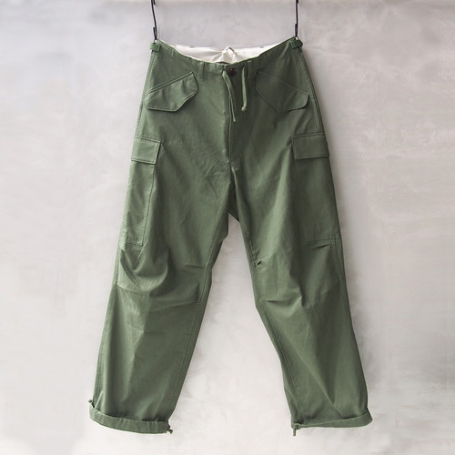 <30%OFF>AURALEE WASHED FINX TWILL FIELD PANTS