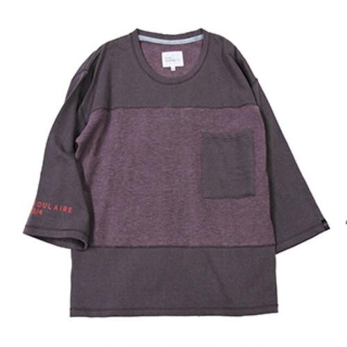 quolt PIGMENT SWEAT / クオルト スウェット / PURPLE / 901T-1149