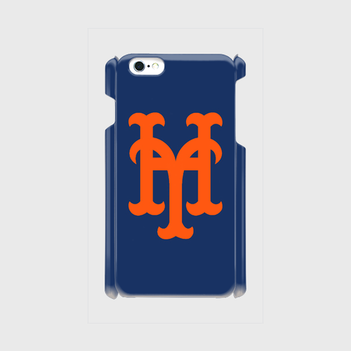 yh Mets iPhone6Plus/6sPlus/7Plus ケース (Blue×Orange)