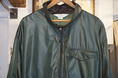 90's L.L.Bean forest-green pull-over Jacket