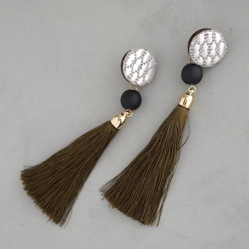 pierced earrings C-P37/earrings C-E37<silver>