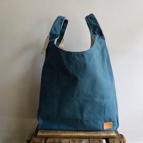 Paraffin Canvas Tote Bag (Blue)