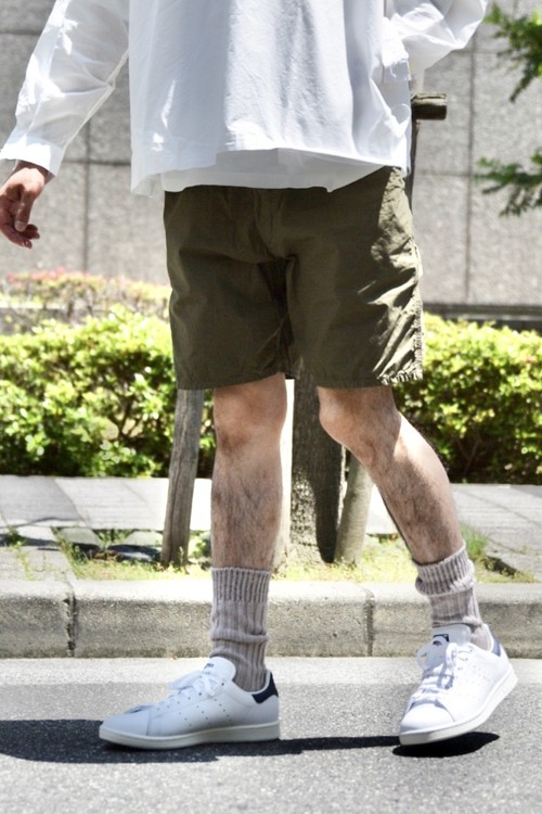 【ORDINARY FITS】RELAX PAINTER SHORTS/OF-P061