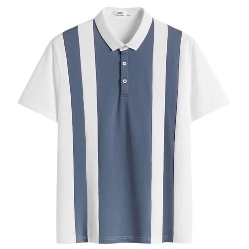 バイカラーポロシャツ