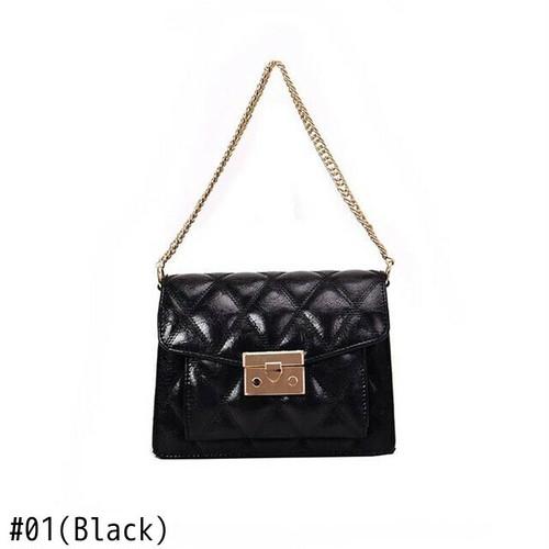 Shoulder Bag Leather Chain Flap Bag Vintage Small Messenger Bag Sac ショルダーバッグ レザー チェーン メッセンジャーバッグ ビンテージ (HF99-9442657)