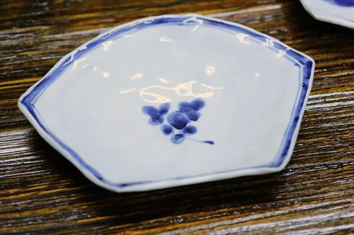 松尾貞一郎 扇型皿 181219K-1 貞土窯(有田焼)
