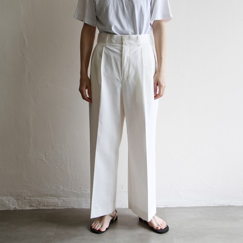 UNION LAUNCH【 womens 】cotton wide pants
