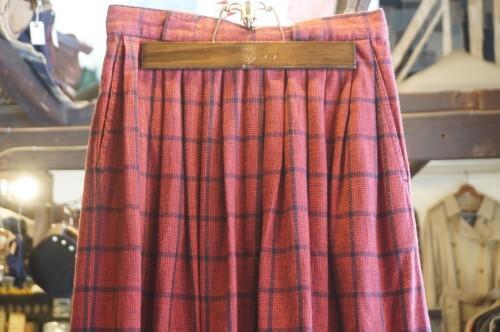 80-90's Eddie Bauer plaid flannel Skirt