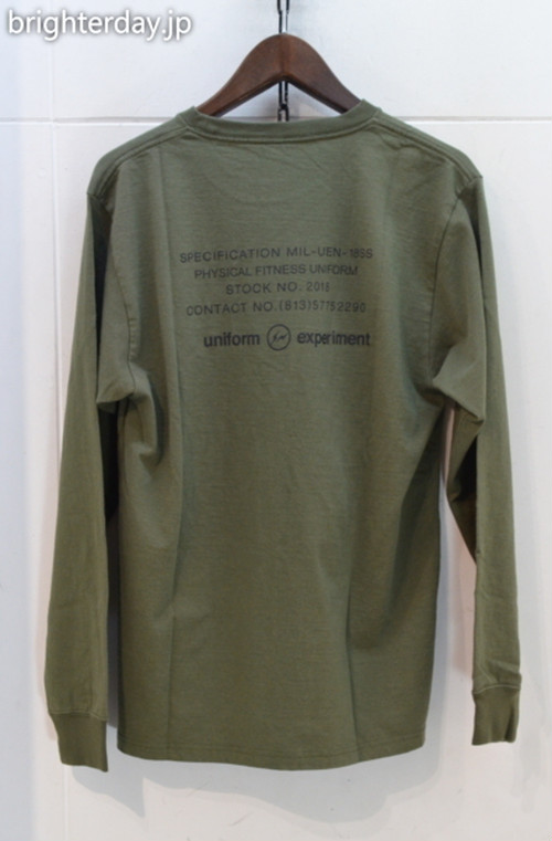 uniform experiment 長袖Tシャツ