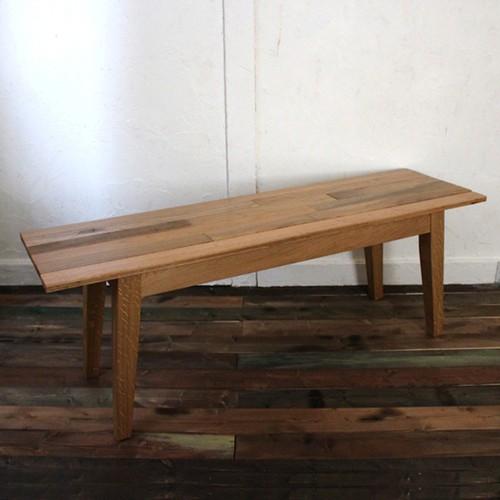 古材を使ったベンチ