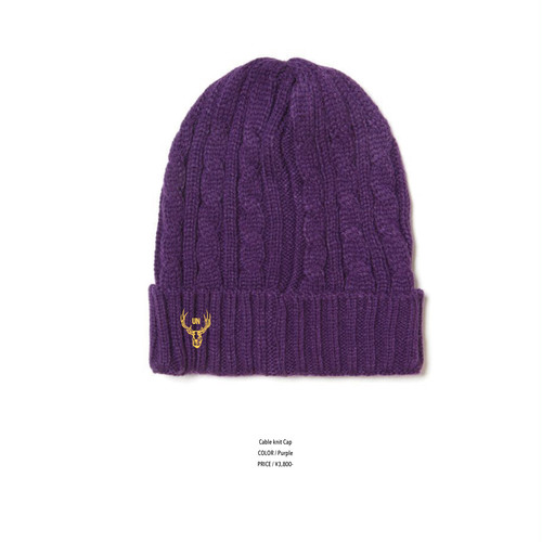 unfudge CABLE KNIT CAP