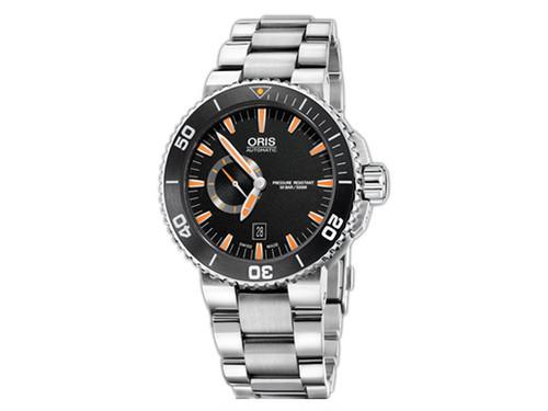 オリス ORIS アクイス Aquis 自動巻き メンズ 腕時計 74376734159M 国内正規