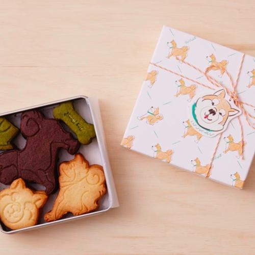 【BOUL'ANGE】<人気イラストレーター佐伯ゆう子さんパッケージデザイン> 柴犬のクッキー缶 (3種15枚入)【手土産】【贈り物】【ご褒美】【ギフト】】