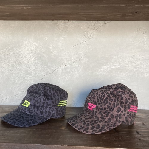 RE/SP Leopard Jet cap / アールイーエスピー レオパード ジェットキャップ