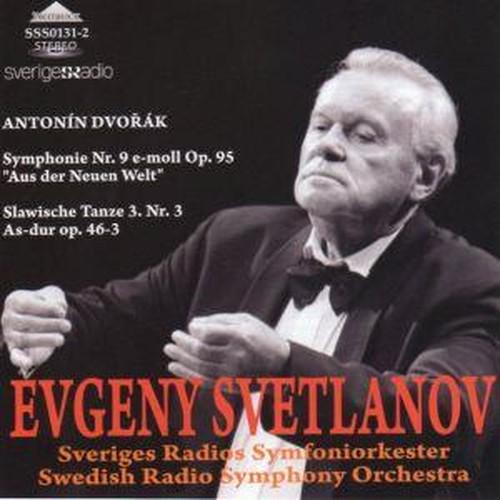 [中古CD] ドヴォルサーク:交響曲第9番「新世界より」他 スヴェトラーノフ/スウェーデン放送交響楽団