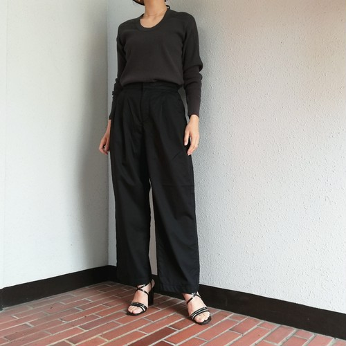MEYAME (COTTON WIDE PANTS)
