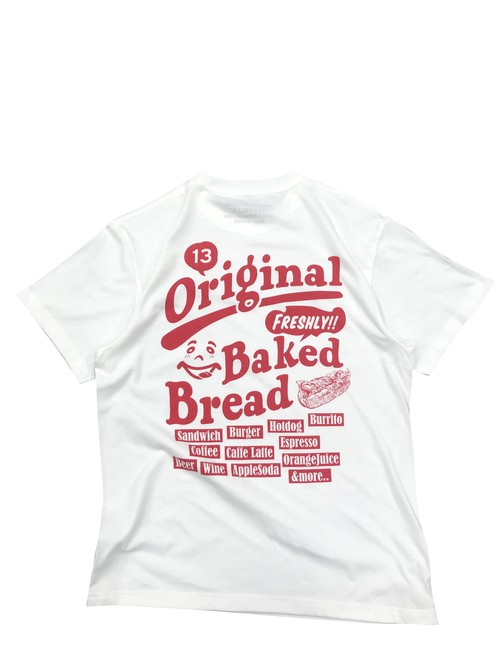 BAKED BREAD TEE [WHITE]