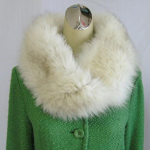 ¶ new antique fur ¶ ブルーフォックスファーnejiriスヌード「fouy」