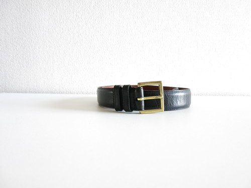 1980's Old Coach Belt Black