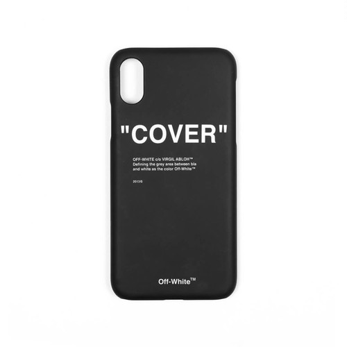 Off-White™  / Quote Cover iPhone X case / BLACK / 2018AW