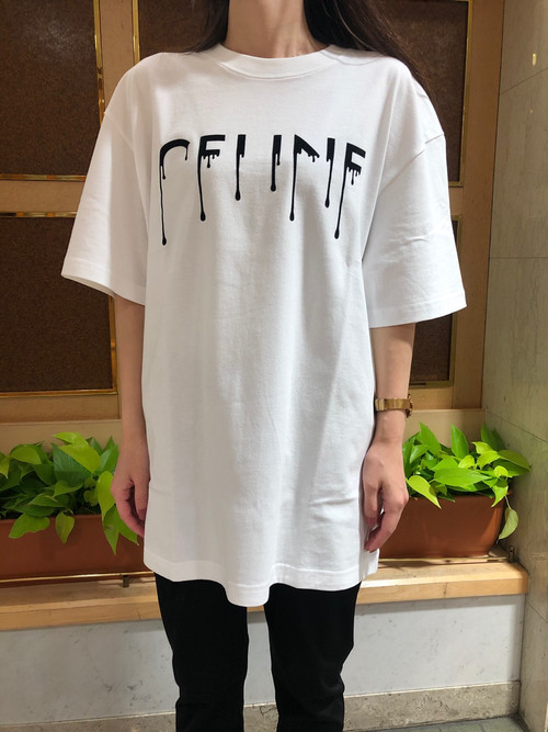 Pauline Bleu☆ドリップTシャツ
