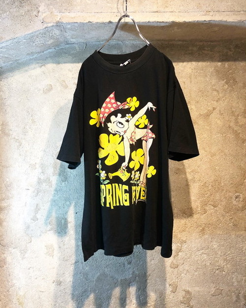 90's old betty 両面TEE