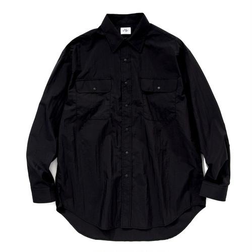"Just Right ""UL Snap Shirt"" Black"
