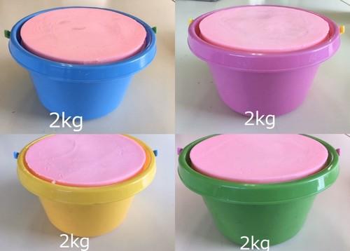 バケツ石鹸 2kg 全4色