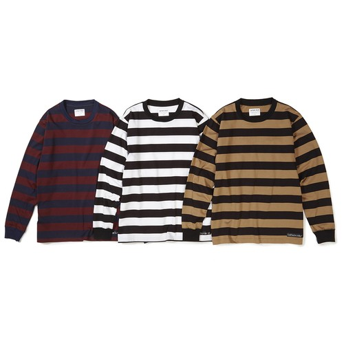 CAPTAINS HELM #Border L/S Tee