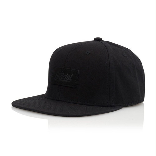 OFFICIAL(オフィシャル)/ BCK IN BLK JT CAP -BLACK-