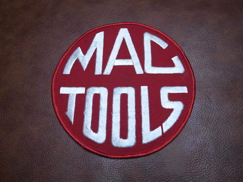 MAC TOOLS BIG SIZE Vintage Patch