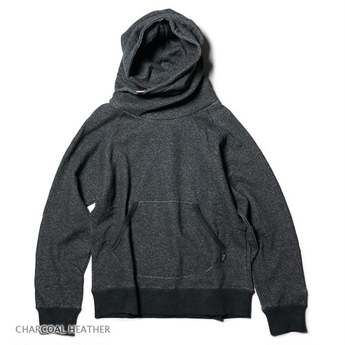 GOHEMP SHAWL HOODY/H/C FLEECE