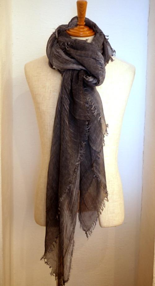 Linen Stole Gray